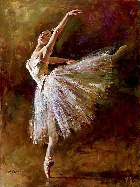 """Bailarina"" Andrew Atroshenko"