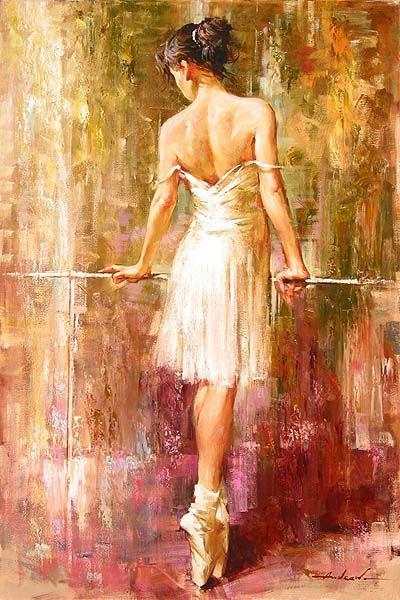 Purity oil painting andrew atroshenko for Ballerine disegnate
