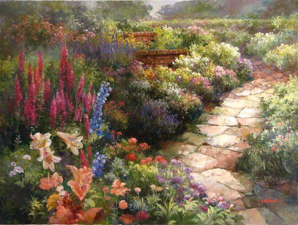 """""""Tranquil"""" Artist Paul Guy Gantner - Original Oil Paintings"""