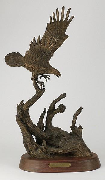 h  h  robinson  u0026quot on the attack u0026quot  bronze sculpture