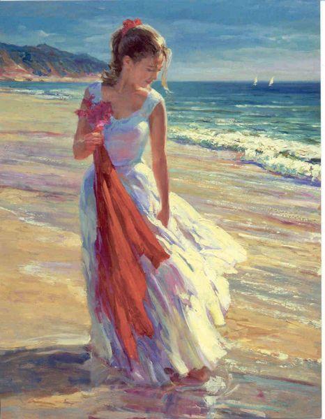 """Coastal Breeze"" Vladimir Volegov Artist"