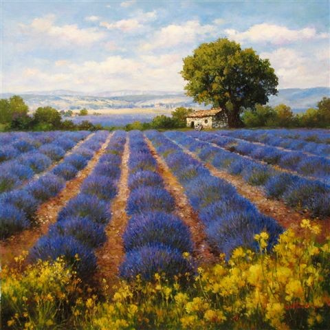 Lavender Oil For Oil Painting